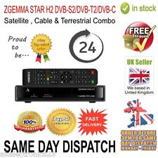 Zgemma Star H2 DVB-S2/DVB-T2/DVB-C Satellite & Terrestrial Combo Replace H1