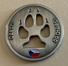 Czech Geo-Dog Geocoin