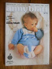 Catalogue Anny Blatt n°72 - 1985 - de 0 à 3 ans