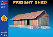 MiniArt Freight Shed Lager Lagerschuppen Lagerhaus Diorama 1:72 ModellBausatz H0