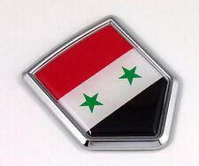 Syria Syrian Flag Car Chrome Emblem 3D Decal Bumper Sticker Badge Auto bike