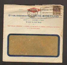 """TOULOUSE (31) USINE ,LITERIES & MEUBLES de JARDIN Conde """"DECUNS & CONTE"""" en 1931"""