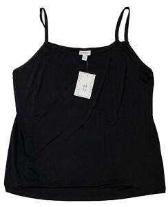 Lularoe 2XL Essential Cami #3890 - Solid Black