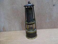 Ancienne lampe de mineur Val St Lambert début 20eme éclairage de manufacture +