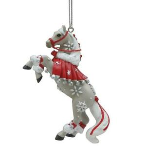 Trail of Painted Ponies 'First Snowfall' Horse Ornament NEW 6009529