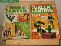 Green Lantern #7 and #9 (1960) DC 1st Appearance of Sinestro, Jordan Brothers