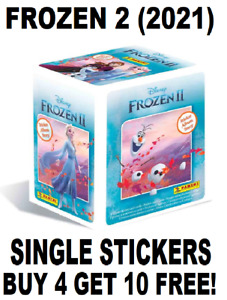Panini Frozen 2 Sticker Story Collection SINGLE STICKERS Buy 4 Get 10 Free (2021