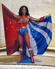 "Wonder Woman ""Lynda Carter"" Color Figure Tabletop Display Standee 11"" Tall"