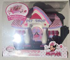 NEW Disney Store Minnie Mouse Pet Shop Playset Disney Exclusive