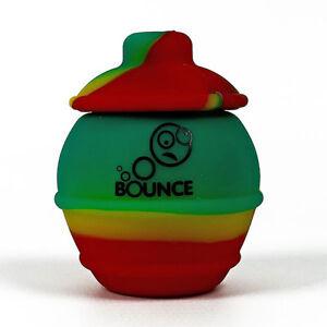 Bounce Silicone Honey Pot - Non Stick Wax No Odor - Colours Vary
