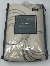 Regency Heights Cosma 84 Inch Grommet Window Curtain Panel in Grey Taupe