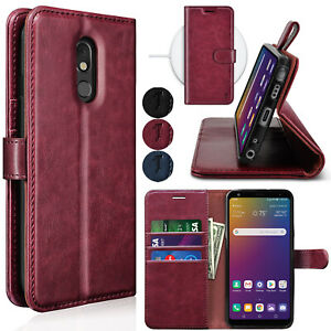 For LG Stylo 5/Stylo 5 Plus Flip Leather Wallet Case Card Holder Kickstand Cover