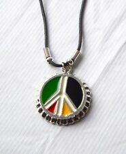 Kette mit XL Anhänger_PEACE__RASTA_Reggae