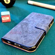 Luxus Leder Tasche für iPhone 5/5s Flip Case Etui Handytasche Schutzhülle Cover