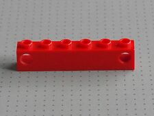 LEGO ELECTRIC-ROSSO 1 X 6 Stud PRISMA titolare-TRENO LUCI - (4170)