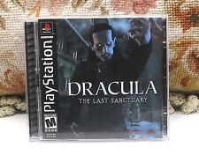 Drácula: el último santuario (Sony Playstation 1, 2002) Juego
