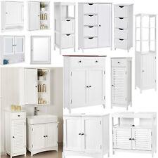SONGMICS Bathroom Cabinet Storage Cupboard Wall Mounted Unit Shelves Cupboard