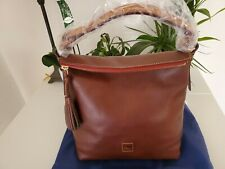 Dooney & Bourke Florentine Small SLOAN Hobo CHESTNUT BROWN 8L0371 CS NWT$298.