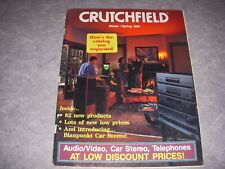 CRUTCHFIELD Catalog, WINTER/SPRING 1992, BLAUPUNKT CAR STEREO!
