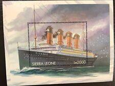 Sierra Leone- 1998 Titanic Stamp- Souvenir Sheet scott #2123