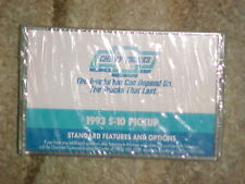 Chevrolet Chevy Trucks Instructional Cassette Given With Your New Truck 1993