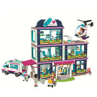 Friends Heartlake Love Hospital Kids Toys Bricks DIY Girl Gifts 932pcs Building
