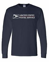 USPS POSTAL long Sleeve Heavy Duty Size XXL GILDAN 6oz Shirt BUY 2 GET 1 FREE