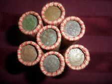 SHOTGUN ROLL  UNSEARCHED WHEAT PENNIES   INDIAN HEAD ON THE END