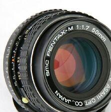 SMC Pentax-M f1.7 1:1.7 50mm ME Super K1000 K100 K10D K20D