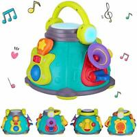 Baby Activity Musical Educational Toy - EARSOON Musical Activity Cube Play