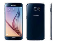 Téléphones mobiles jaunes Samsung Galaxy S6 avec android