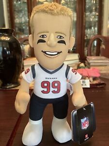 "NFL Bleacher Creature 2015 JJ Watt Plush Football  10"" Figure Houston Texans"
