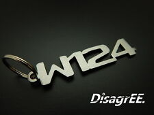 "Schlüsselanhänger ""W124"" E Klasse 420 500 60 AMG 300CE - Edelstahl GEBÜRSTET!"