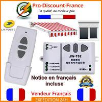 Kit Récepteur Emetteur Volet Roulant Radio Sans Fil Store Télécommande 220V