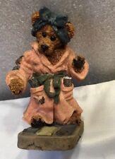 Boyds Bears & Friends~ Style #2284 ~ Ms. Griz .Saturday Night ~ 1995