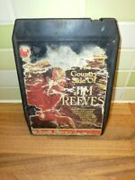 8 Track Cartridge The Country Side Of Jim Reeves Vintage Rare Authentic