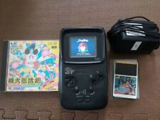 PC Engine GT Turbo Express Portable Console System NEC Vintage w/AC adopter Game