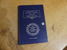 Vintage Book United States Coin 1968 Blue Book Silver Anniversary Edition