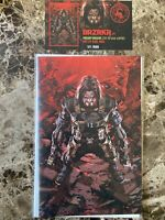 BRZRKR #1 Kael Ngu Virgin Variant Keanu Reeves Scorpion Comics W/COA 127/666