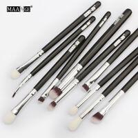MAANGE 6/10pcs Makeup Brushes Set Eyeshadow Eyeliner Eye brow Cosmetic Tool Kit