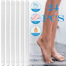 24pcs Non-Slip Showers Stickers Kitchen Bath Tub Floor Stair Tread Safety Strips