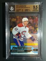2016-17 Upper Deck Artturi Lehkonen Young Guns GOLD Rainbow Foil Rookie BGS 9.5