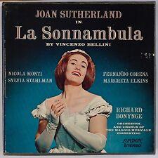 BELLINI: Sonnambula, Joan Sutherland LONDON BB Reel to Reel Tape BONYNGE