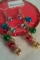 Jingle Bell Dangle Earrings Christmas Earrings