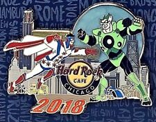Hard Rock Cafe Chicago Pin Pindulge 2018 Collector Event SuperHero LE NEW 100724