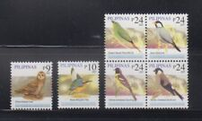 Philippine Stamps 2007 Birds 9p, 10, 24p Block of 4, Complete as issued, MNH