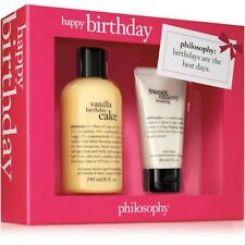 New Philosophy Happy Birthday Gift Set: Shower Gel & Bubble Bath and Lotion