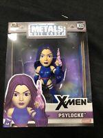 """xmen Die-Cast Metals Psylocke 4"""" Inch Figure X-Men Marvel Comics new Jada Toys"""