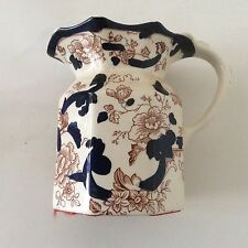 Masons ironstone jug, Mandalay, in excellent condition.