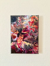 Abstract Contemporary Art Painting Acylic Pour (Pheonix III)